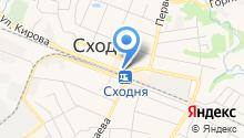 Билетная касса на ул. Кирова на карте