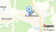 Администрация сельского поселения Габовское на карте