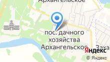 Архангельское, ТСЖ на карте
