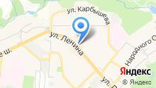 Левикон на карте