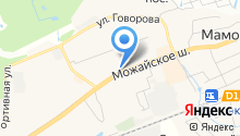Одинец на карте