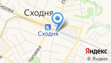 Автостоянка на Мичурина на карте