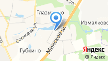 Одинцовский парк на карте