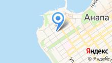 Центр занятости населения г. Анапы на карте