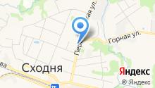 Главное управление Пенсионного фонда РФ №5 г. Москвы и Московской области на карте