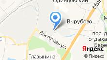 Матвеевский на карте