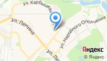 Магазин продуктов на ул. Кирова на карте