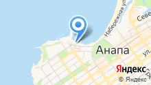 Анапа-Марина на карте