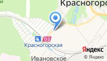Магазин чая и кофе на карте