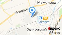 Баковский завод, ЗАО на карте