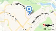 Красногорский родильный дом на карте