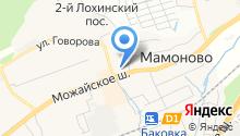 АЗС Нефтепродукт ОРТК на карте