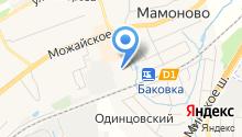 Баковский на карте