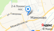 Оленёнок на карте