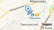Военная прокуратура Одинцовского гарнизона на карте
