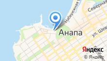 Анапский археологический музей на карте