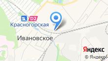 Автостоянка на Железнодорожной на карте