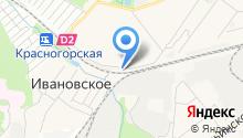 Альфа-Моторс на карте