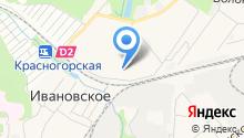 Банка на карте