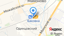 Баковка на карте