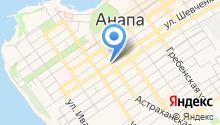 Анапская недвижимость на карте