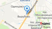 Одинцовская школа на карте