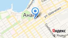 Администрация города-курорта Анапы на карте