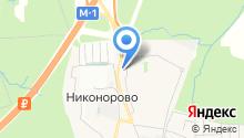 Новая Трехгорка на карте