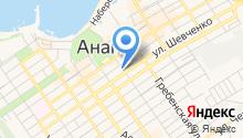 Анапа-недвижимость на карте