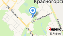 Зоомагазин на ул. Ленина на карте