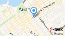 Анапа-Строймаркет на карте
