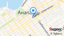 Веста-Анапа-Дом на карте