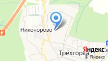 Магазин мяса на ул. Чистяковой на карте