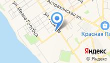 Бюро медико-социальной экспертизы по Краснодарскому краю на карте