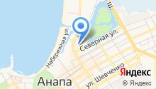 Веломир Анапа на карте