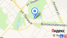 Красногорский парк на карте