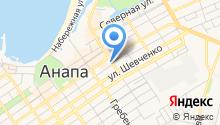 Дом на Кубани на карте