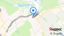 Бюро офисных машин на карте