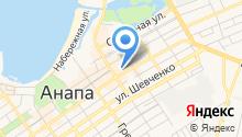 Анапа Проспект на карте