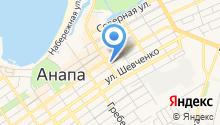 Ассорти Анапа на карте