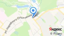 На Речной на карте