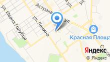 Ворошилов и К на карте