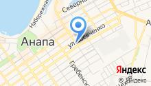Вест на карте