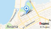 Анапка на карте
