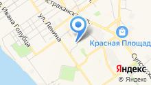 Ателье на ул. Ленина на карте