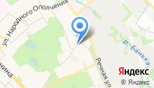 Красногорск Хлеб на карте