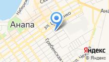 Анапа-Сити на карте
