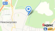 Московия на карте