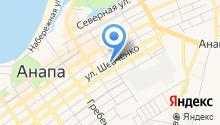 Агентство переводов на карте