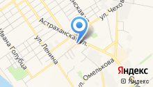 Анапаторг на карте
